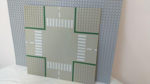 Diverses plaques au choix LEGO grise verte route lunaire 50x50
