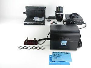 Nikon-Medical-Nikkor-C-Auto-1-5-6-f-200mm-Objektiv-lens-DC-Unit-etc-cases