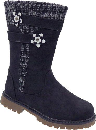 Mädchen Boots Kinder Winter Stiefel warm gefüttert Gr.25-36 Art.-Nr.CC717