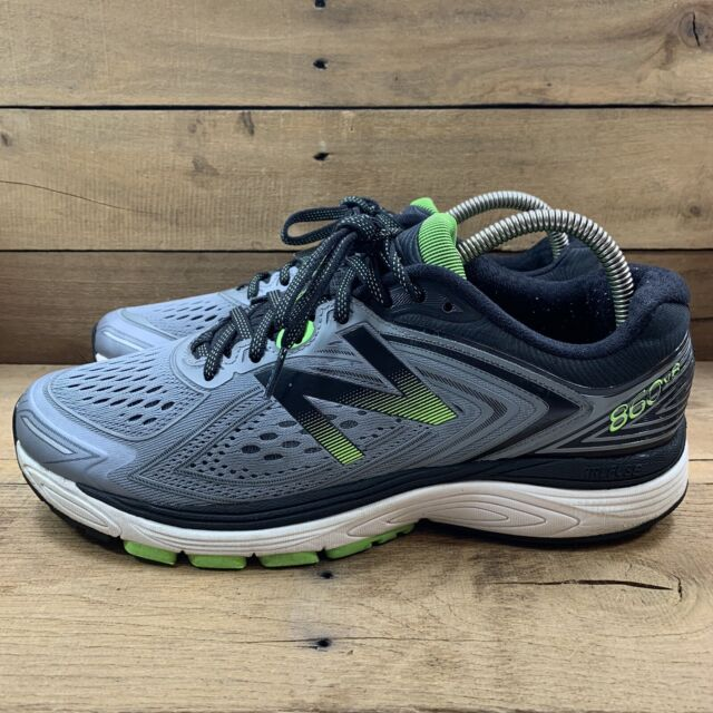 New Balance Mens 860v8 Mens Running Shoes Gray Volt & Black Size 9.5 D