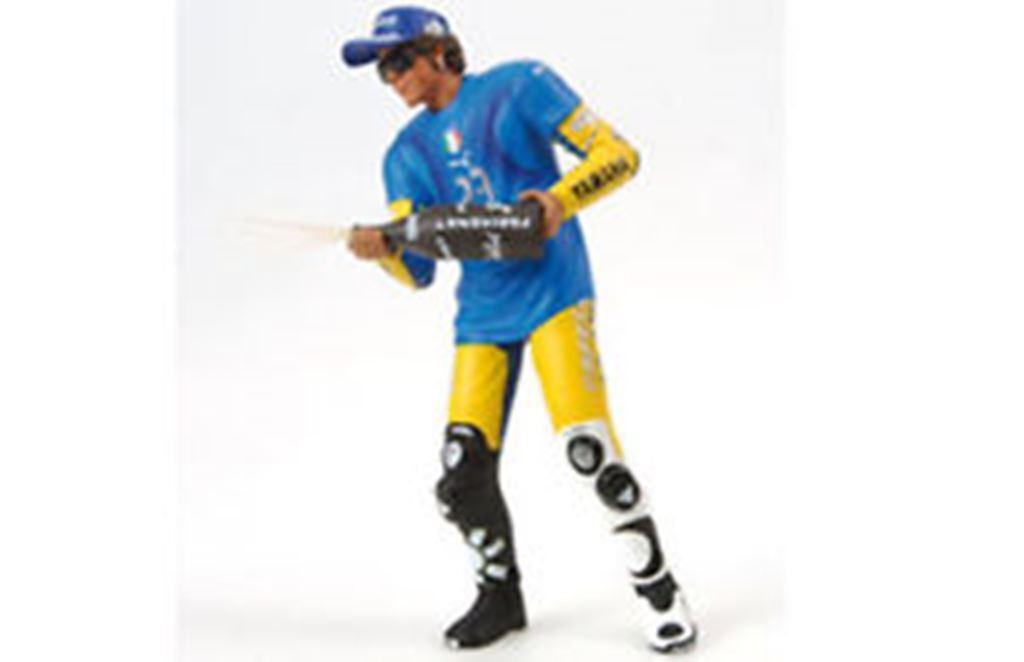 MINICHAMPS 312 060296 Rossi figure Sachsenring German MotoGP 2006 1 12th scale
