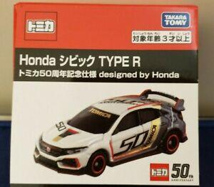 new Tomica Honda Civic TYPE R Tomica 50th Anniversary 4904810143468 *FREE SHIP