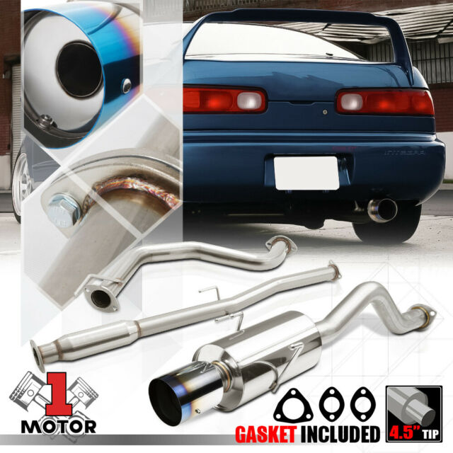 94-01 INTEGRA GSR DC2 HATCHBACK STAINLESS EXHAUST CATBACK