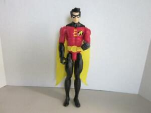 DC-COMICS-BATMAN-12-Poseable-Figure-ROBIN-Unlimited-MATTEL-with-Cape-2015