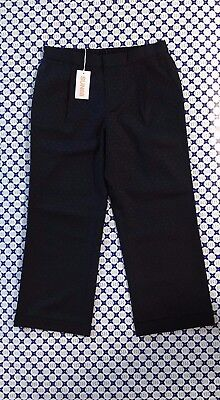 Pantalone SUN 68 Donna Loungette Lana Puntini Blu Navy P2722   eBay