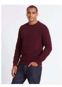 M/&S COLLECTION Men/'s  Cotton Rich Regular Fit Shirt NEW!!
