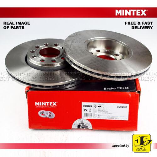 2X Mintex Avant Freins à Disque MDC2338 SKODA SUPERB I 1.8 T 1.9 TDi 2.0 VW Passat