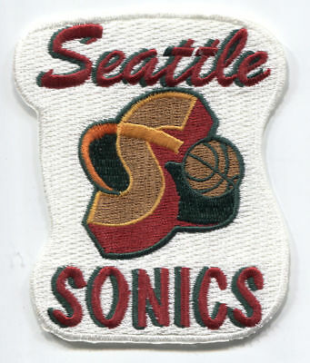 "1995-2000 SEATTLE SUPERSONICS NBA BASKETBALL 3 5/8"" TEAM ..."