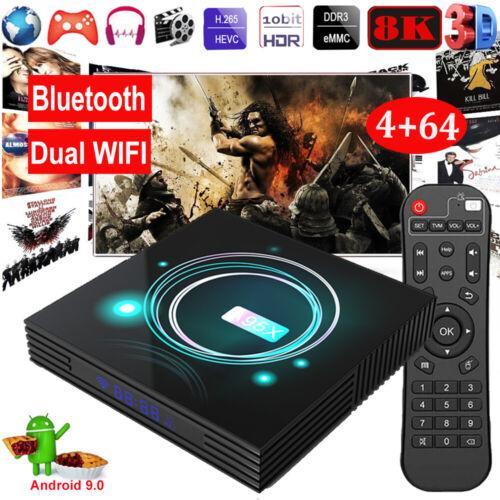 A95X F3 Slim Smart TV Box Android 9.0 8K Image S905X3 4+64GB Media Player G G8C7