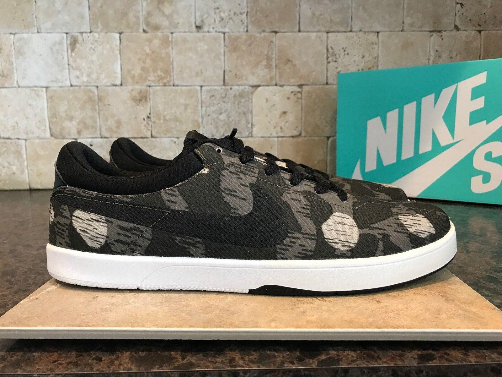 Nike Eric Koston SE low Uomo casual SB scarpe da ginnastica Camo dark dune red SIZE 11.5