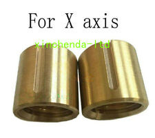2pcsset Bridgeport Milling Machine Brass Cross Feed Copper Nut X Axis Vertical