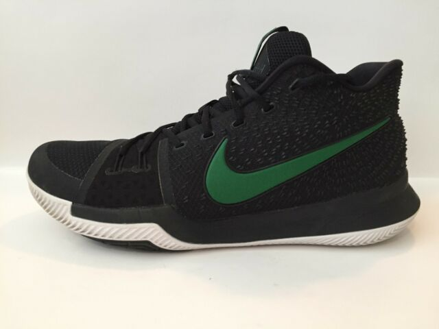 new style 0769c 0e020 Mens Kyrie 3 EP III Irving Uncle Drew Basketball Shoes Black/Green Sz 15 EUC