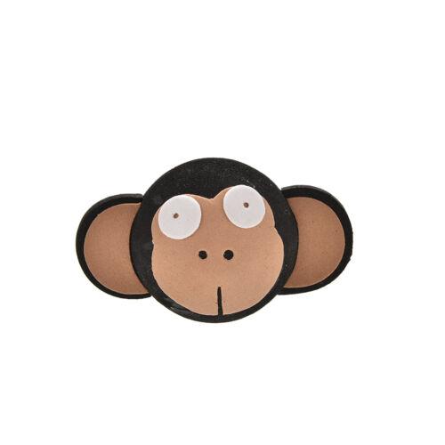 Cute Big Eyes Monkey Antenna Topper Eva Decorative Topper Balls for Car LDUK