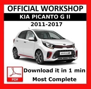 kia picanto service manual free download