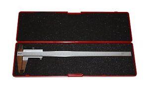 Starrett 125ma-300 Vernier Caliper Avec Verrouillage à Vis Métrique 300mm/0.02mm-afficher Le Titre D'origine