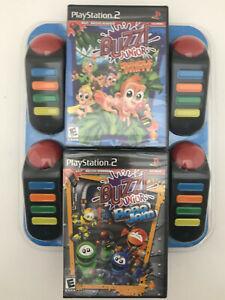 buzz-junior-jungle-party-robo-jam-bundle-playstation2-new-sealed-ps2