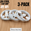 miniature 1 - 3Pack USB Fast Charging Cable 3/6Ft For Apple iPhone 12 11 8 7 6 XR Charger Cord