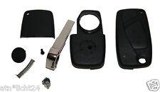 Fiat Bravo Tasten Klappschlüssel Gehäuse Schlüssel Reparatur Set mit Bart Neu 3T