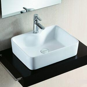 lux aqua design waschtisch waschbecken handwaschbecken aufsatzbecken 4569a 4260452234859 ebay. Black Bedroom Furniture Sets. Home Design Ideas