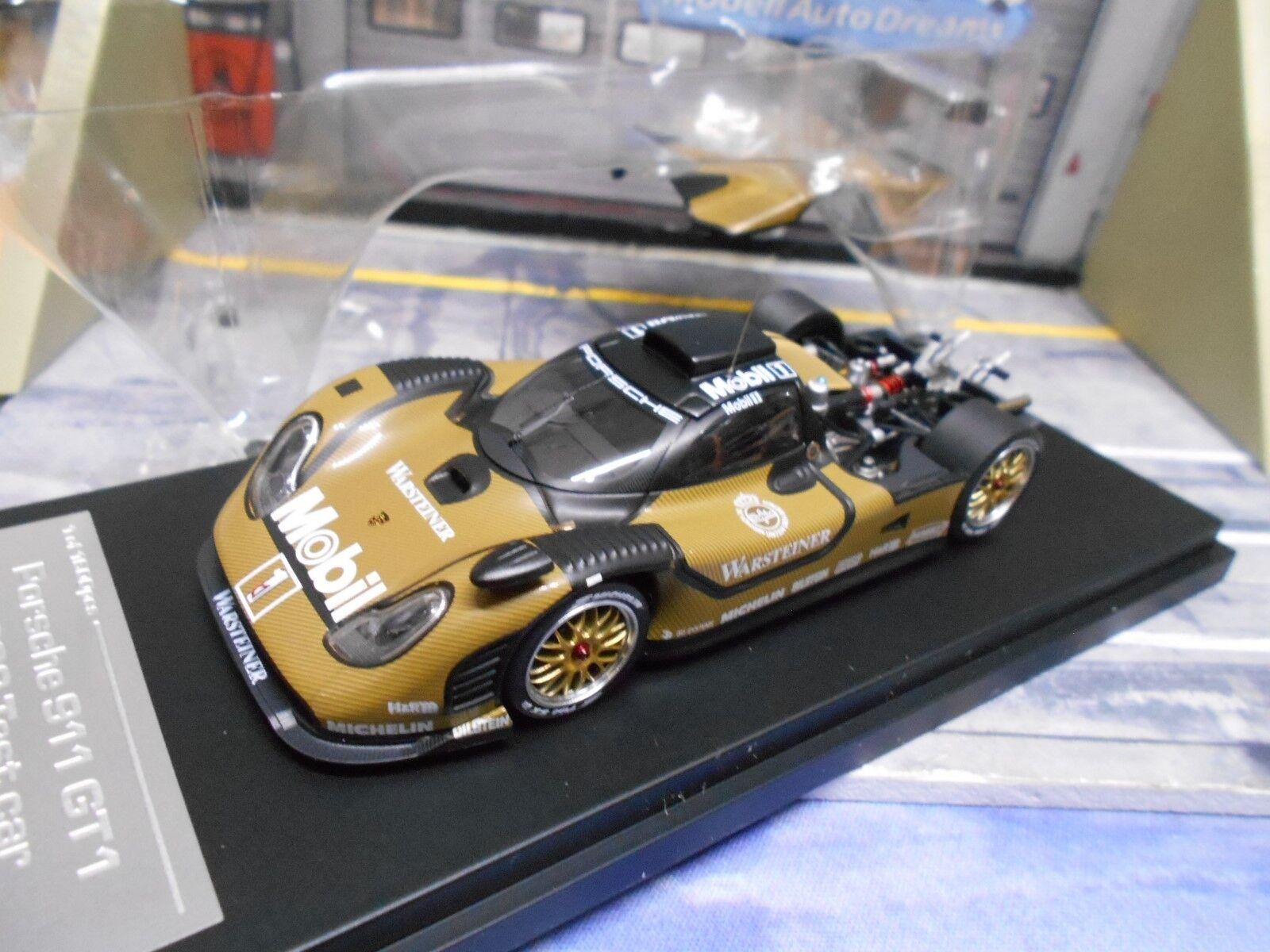 Porsche 911 gt1 versión de prueba estabas racing una le mans hpi highenddetail 1 43