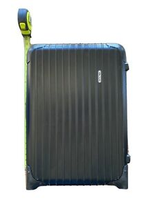 Rimowa Cabin Carry-On Polycarbonate Hard Case Luggage 21 Inch Roller broken lock