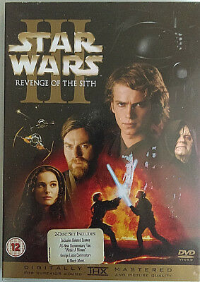 Star Wars Episode Iii Revenge Of The Sith Dvd Uk Release 2 Disc W Booklet Ebay