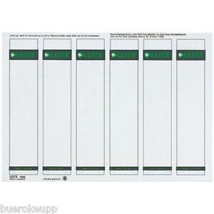 LEITZ-1686-00-85-Spine-Label-Thin-Short-Self-Adhesive-F-PC-16860085-NIP