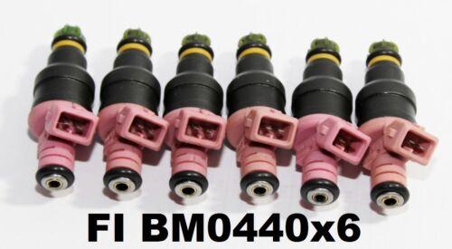1set 6 Fuel Injectors for 1997-2000 BMW Z3//1998-1999 BMW 328i 0280150440