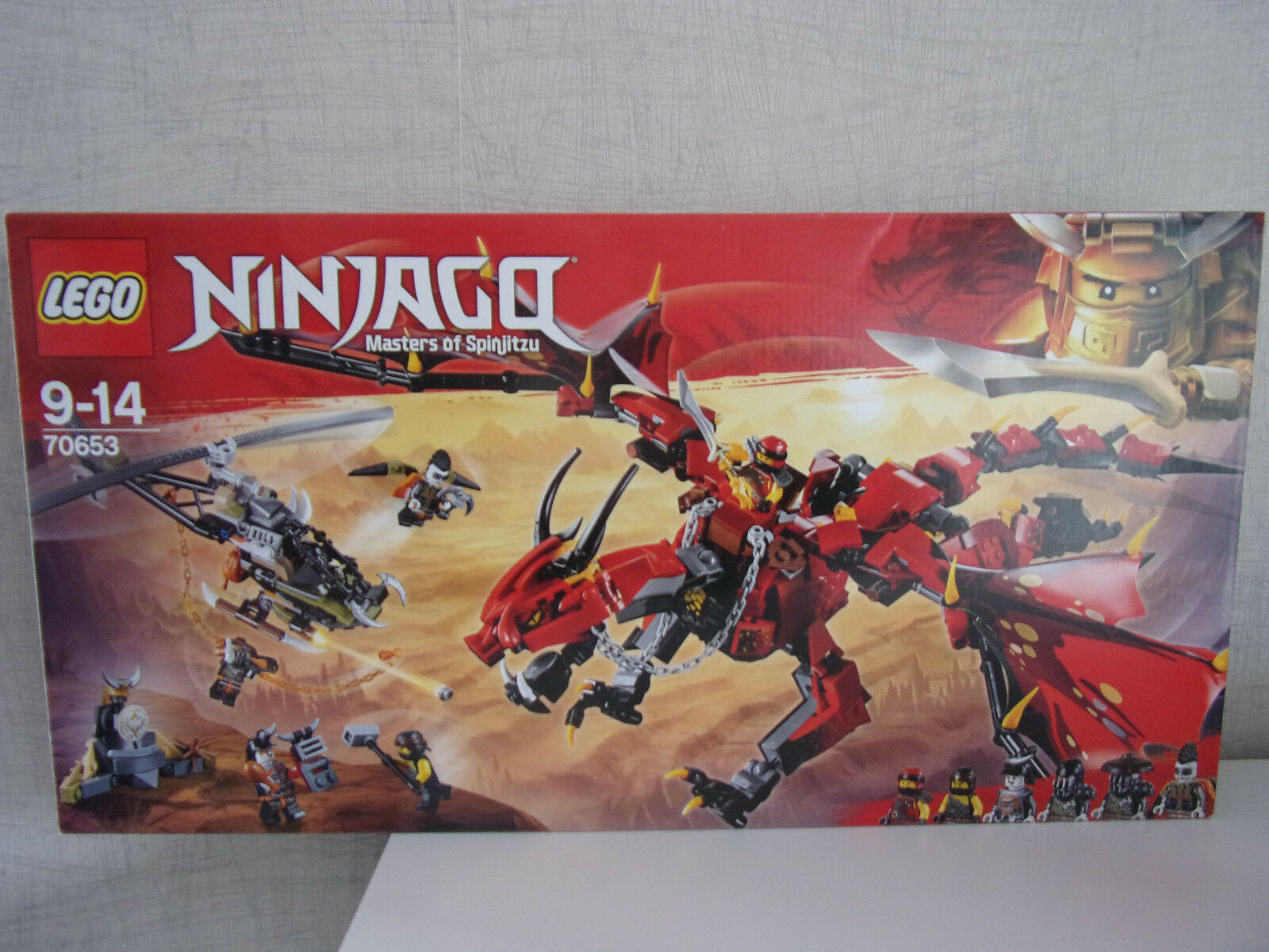 Lego Ninjago (Master of Spinjitzu) 70653 Mutter der Drachen - NEU & OVP