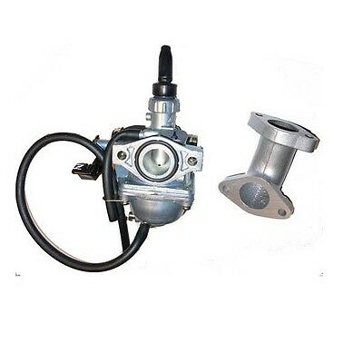 PZ19 Carburetor and 19mm intake manifold  For HONDA Z50 Z 50 Monkey Mini Bike