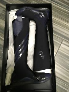 753c7c5a62c3 Adidas Y-3 Yohji Yamamoto Nagatabi Blue Purple Neoprene Sneaker Knee ...