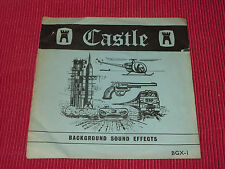 Background Sound Effects - F C Judd   - Castle  BGX-1  EX   7""