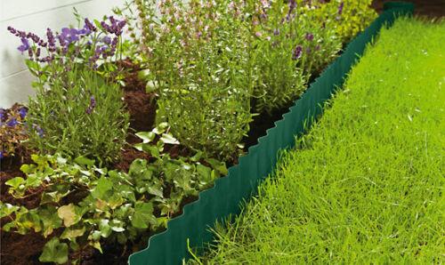 9 m x 0,20 m Beeteinfassung Rasenkante Beetumrandung Rasenbegrenzung Rasen Grün