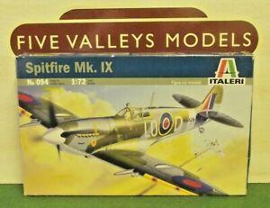 #220519/05 Italieri 094 Spitfire Mk. Ix échelle 1:72-afficher Le Titre D'origine Des Friandises AiméEs De Tous