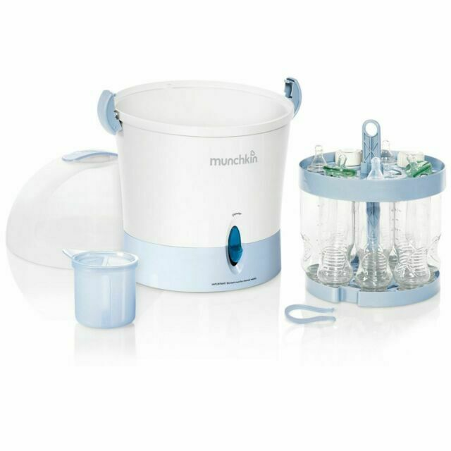 steam guard electric baby bottle sterilizer large
