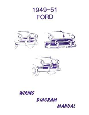ford 1949, 1950 & 1951 car wiring diagram manual | ebay  ebay