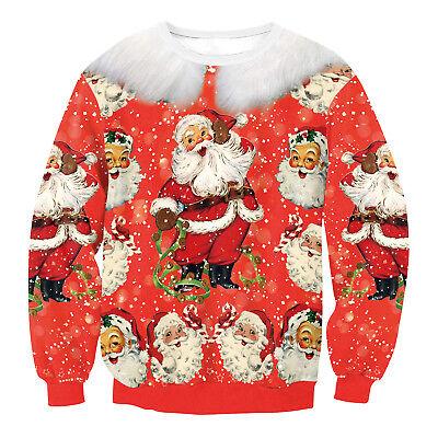 Frauen Herren Weihnachtspullover Weihnachtspullover Neuheit Gestrickte Pullover