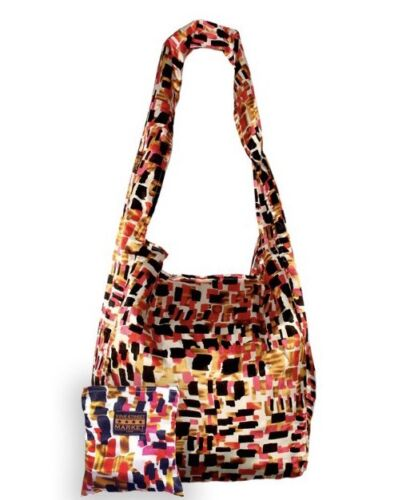 60lbs NEW Vine Street Market USA Large Durable Silky Abstract Tote Holds