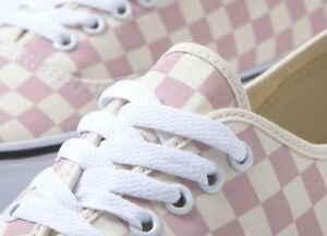 aef8c4d3e16963 Details about vans authentic chalk pink checkerboard! Women s sizes 6.5-10
