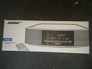 Bose Wave IV Music System - Platinum Silver (737251-1310) SEALED
