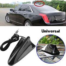 Travel Car SUV Roof Radio AM/FM Signal Booster Shark Fin Aerial Antenna Black