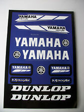 New Yamaha Sticker Pack Decal Yzf R1 R6 Yz Ttr Dtr Xt Pw Wr Fzr Tzr Dt Wrf Xtz