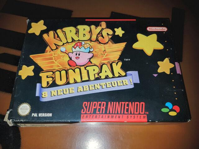 # SNES/Super Nintendo-Kirby 's Fun Pak-ORIGINAL/TOP #
