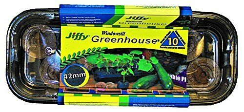 Jiffy 42mm Windowsill Greenhouse 10