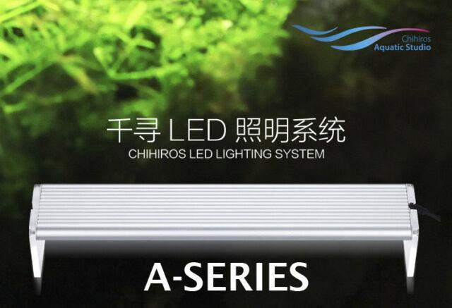 Water plant grow LED light aquarium ADA style Chihiros arcylic super slim 8000k