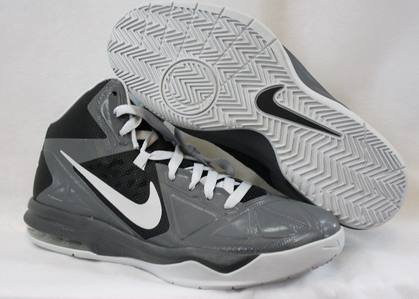 NEW Mens Sz 7 NIKE Air Max Body U 599350 001 Grey Black Sneakers Shoes
