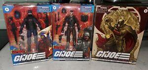 G.I. Joe Classified Series: Major Bludd, Cobra Trooper & Supreme Cobra Commander