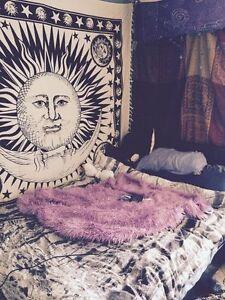 Indian Mandala Tapestry Hippie Wall Hanging Bohemian Sun and Moon Bedspread Dor