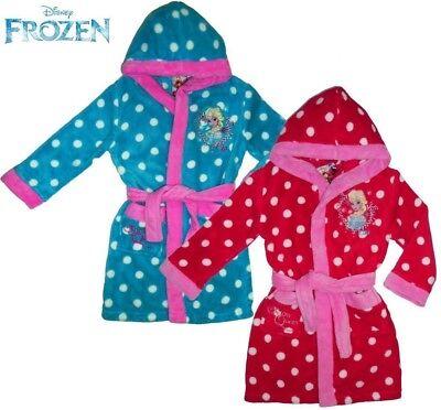 T/ürkis Disney Frozen Bademantel