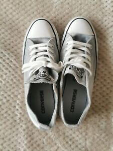 Grey Velvet Canvas Converse | eBay